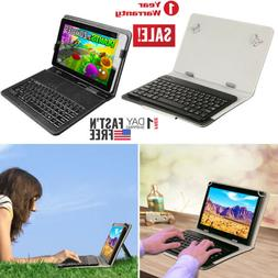 Universal USB Keyboard Folio Leather Case Stand Cover For 8'