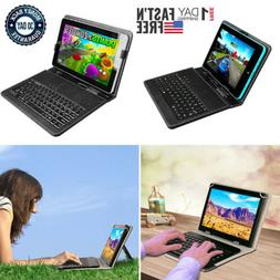Universal USB Keyboard Folio Leather Stand Cover Case For 8'