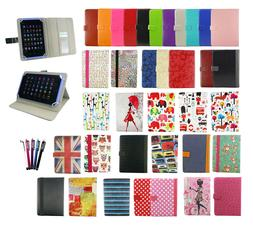 Universal Wallet Case Cover fits Popwinds 10.1 Inch Tablet P