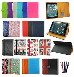 Universal Wallet Case Cover fits Yuntab K03 7 Inch Tablet PC
