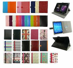 """Stylish Universal Wallet Case Cover fits YunTab 7"""" Inch Andr"""