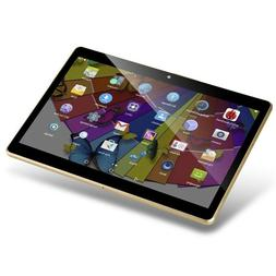 YELLYOUTH 3G Unlocked Tablet Android 10 inch with Dual SIM C