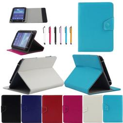 """US PU Leather Folding Folio Case Cover For RCA Voyager II 7"""""""