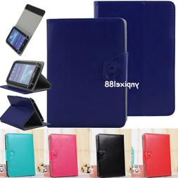 """US For 7"""" 8"""" 9"""" 10.1"""" Inch Tablet PC Universal PU Leather Fl"""