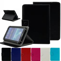 Universal Folding Leather Case Cover For Panasonic Eluga Liv