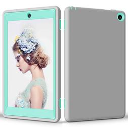 """USA Shockproof Hybrid Case Cover For 8"""" Amazon Kindle Fire H"""