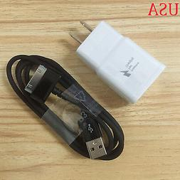 """USA Travel Wall Fast Charger Cable 7/8.9 /10.1""""For Samsung G"""
