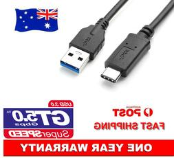 USB 3.1 Type-C to USB3.0 Data Charger Adapter Cable Cord For