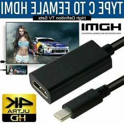 USB-C Type C to HDMI Adapter USB 3.1 Cable For MHL Android P