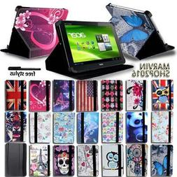 """For Various 10"""" Acer Iconia Tab Tablet - FOLIO LEATHER STAND"""