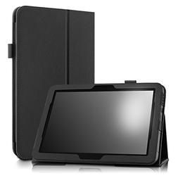 Infiland Verizon Ellipsis 10 Case - Folio Premium PU Leather