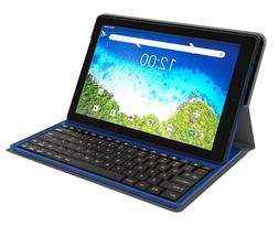 "RCA Viking Pro Tablet w/Folio Keyboard 10"" Multi-Touch Displ"
