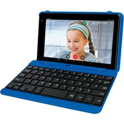 """RCA Voyager Pro 7"""" 16GB Tablet with Keyboard Android 6.0, Bl"""