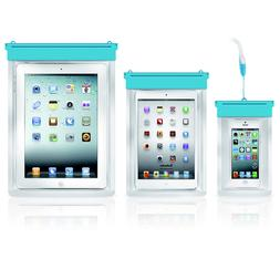 Waterproof Underwater Pouch Dry Bag Case Cover For Tablet iP