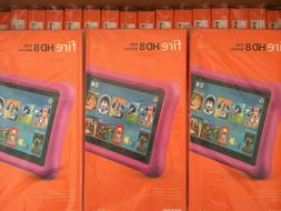 Wholesale lot of 40 Amazon Fire HD 8 Kids Edition Tablet 8""