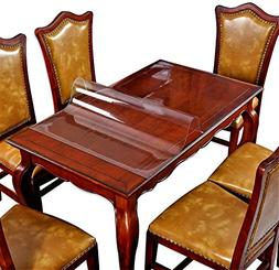 Wipeable Tablecloth Wood Furniture Coffee Table Protector Cl