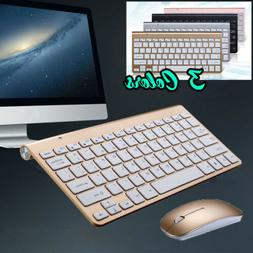 Wireless Bluetooth Keyboard and Mouse Slim For iOS Android W