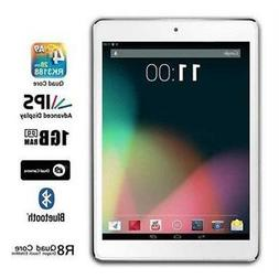 Dragon Touch X8 Quad Core Tablet Android WiFi 16GB- White