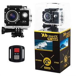 NeuTab Xtrem 4K Action Camera, Dual 2 Inch LCD Screen 16 MP